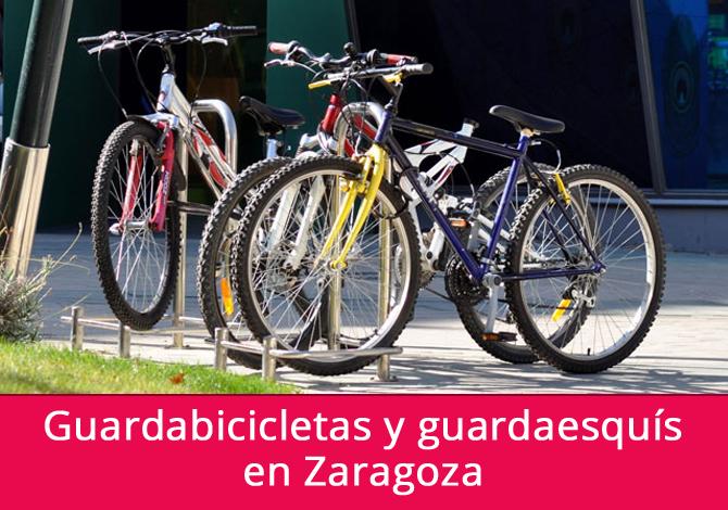 Guardabicicletas y guardaesquís en Zaragoza