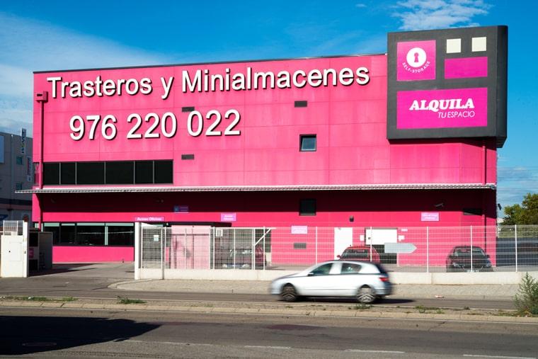 alquiler de guardamuebles en Zaragoza