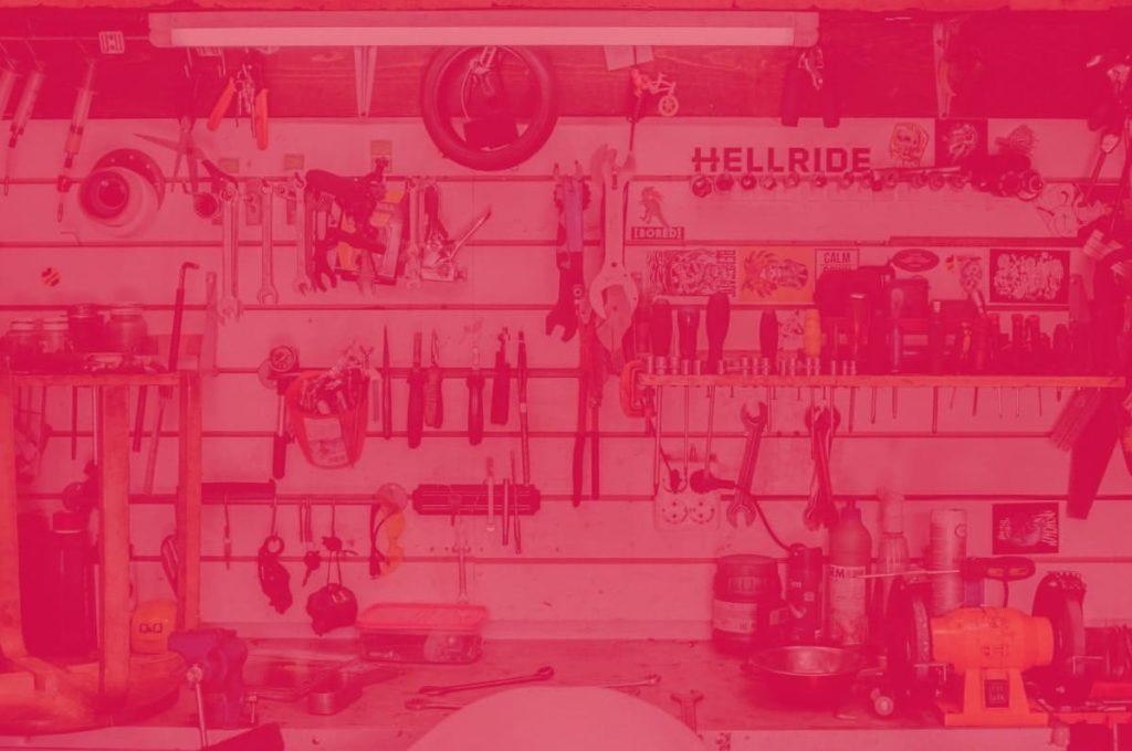 organizar herramientas garaje